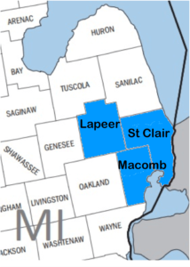 Service Area - Heating and Cooling - Macomb, St Clair & Lapeer County, MI