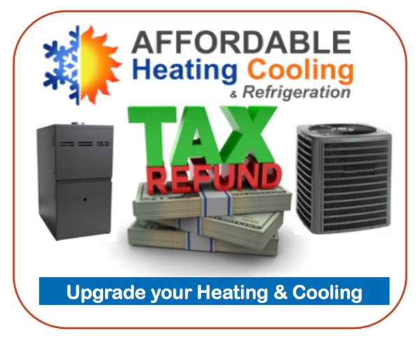 Tax Refund Home Improvements Furnace Or Air Conditioning