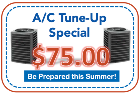 Air Conditioning Tune Up & Cleaning Specials